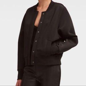DKNY Women's Black Bomber Jacket
